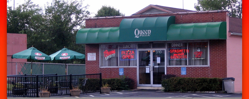 Queen Pizza Restaurant Silver Lane East Hartford Connecticut
